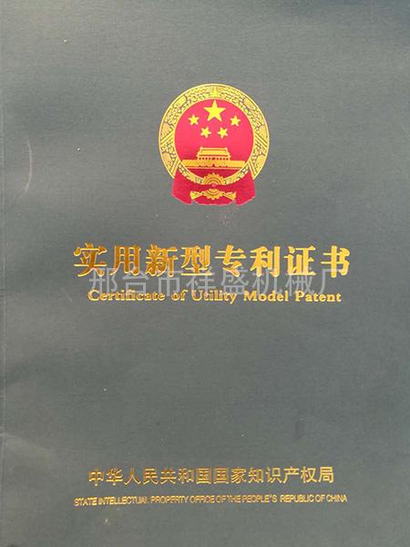 实用新型专利证书 (1)